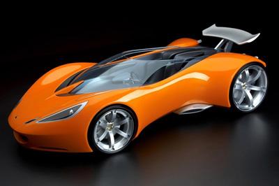 Lotus Hot Wheels Concept Car - 2007 Design