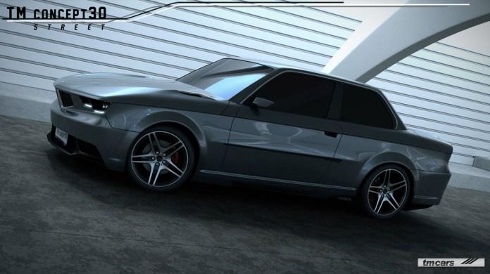 bmw e30-based tm concept30 | concept cars | diseno-art
