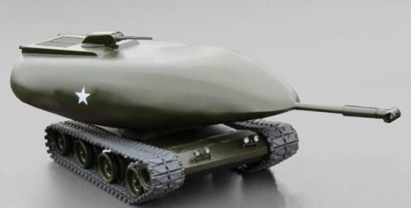 Chrysler TV-8 strange tank