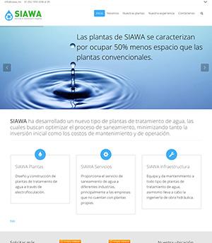 Sitio Web Siawa