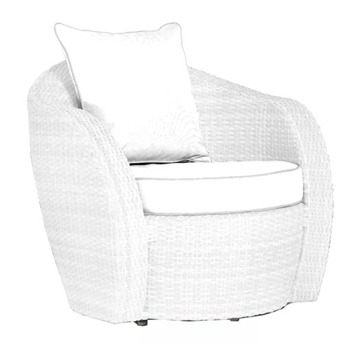 1 SEATER SOFA A008A2 ice white