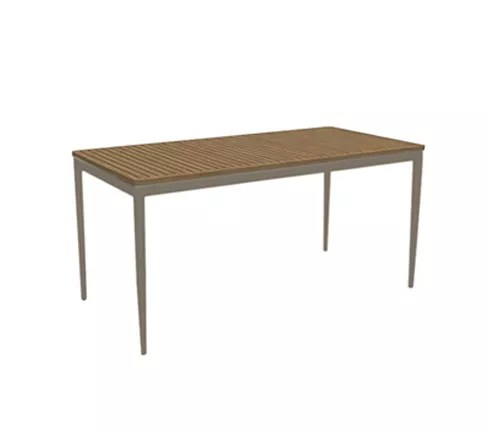 MUSES LOW DINING TABLE T220 CHAMPAGNE