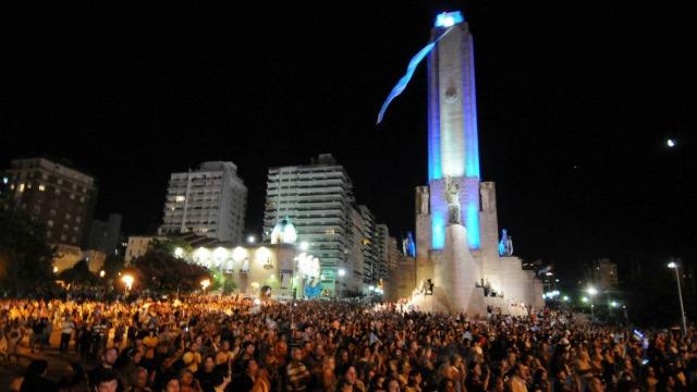 Show en el Monumento