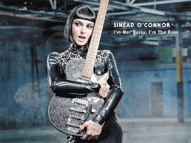 Sinead O'Connor en Rosario presenta I'm not bossy, I'm the boss
