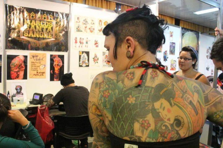 Convención de tatuajes en Rosario 2017