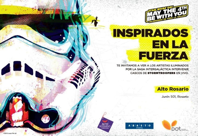 Star Wars Day en Rosario 2015