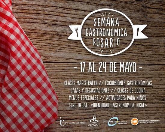 Semana Gastronómica Rosario 2015: actividades
