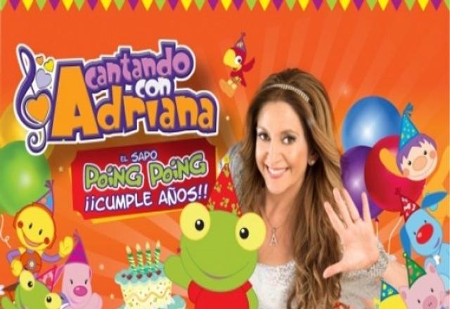 Cantando con Adriana en Rosario