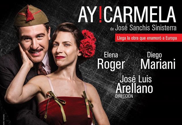 Ay Carmela en el Teatro El Círculo