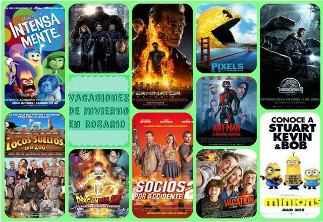 Cine para chicos en vacaciones de invierno en Rosario