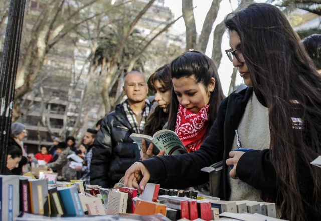 Feria de librerías en Rosario