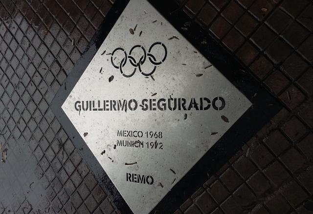 Paseo de los Olímpicos en Rosario