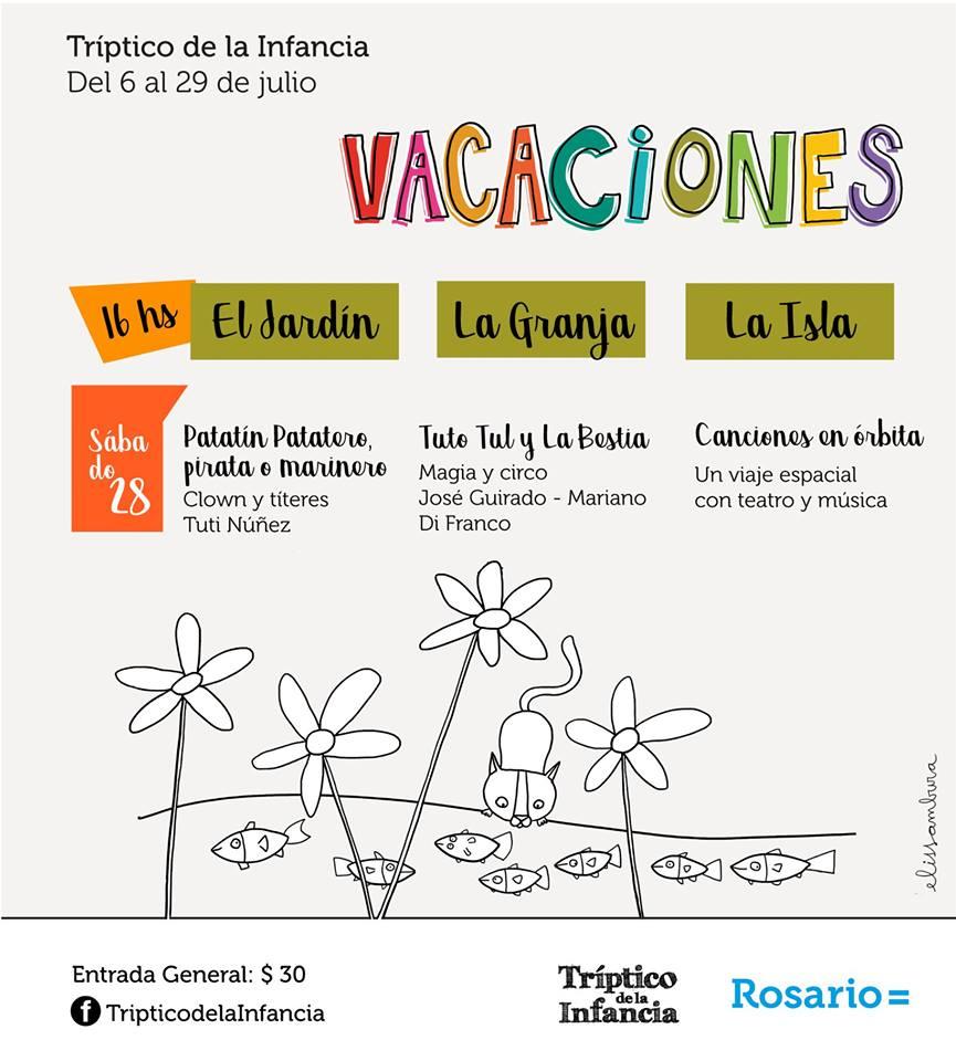 Vacaciones en el Tríptico de la Infancia