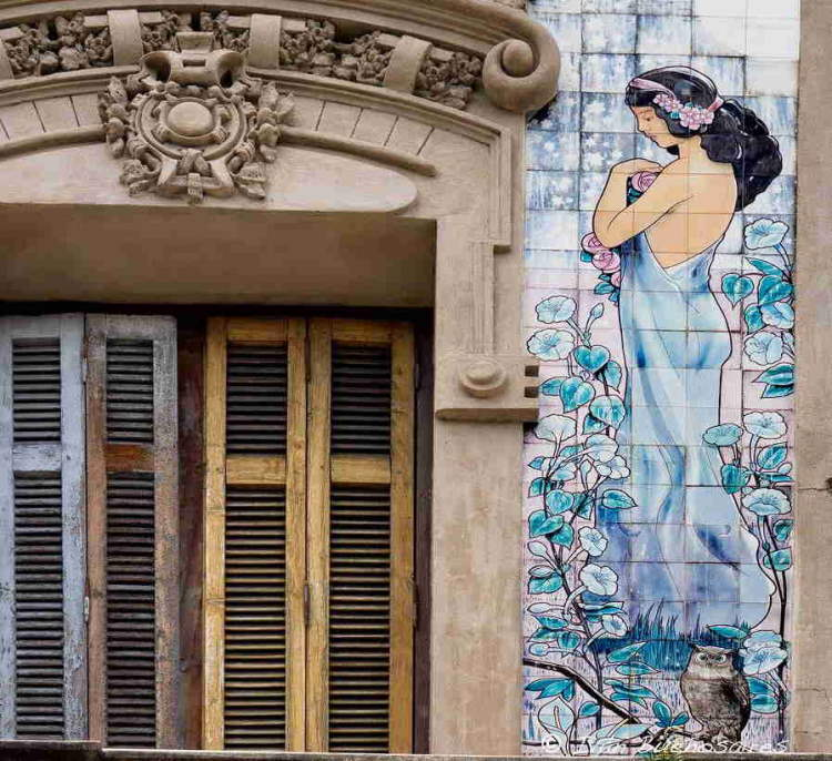 Art Nouveau en Rosario, edificios característicos