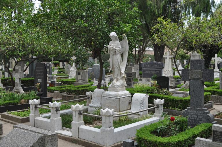 cementerio de disidentes significado