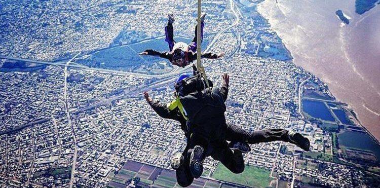 salto en paracaidas rosario
