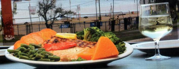Restaurante vista al río Rosario: Escauriza