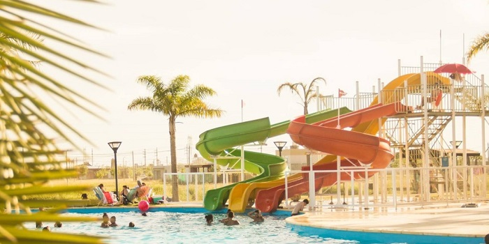 Parque acuático en Roldán
