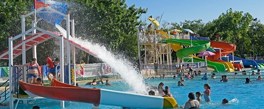 Parque acuático en San Lorenzo