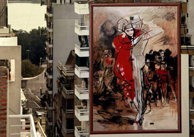 Arte urbano a la Vista Rosario