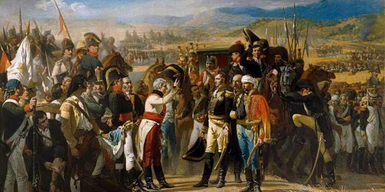 La rendición de Bailén, primera batalla en que el ejército napoleónico es derrotado Crédito: Casado del Alisa/Museo del Prado