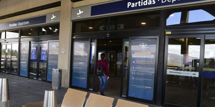 Aeropuerto Bariloche ahora