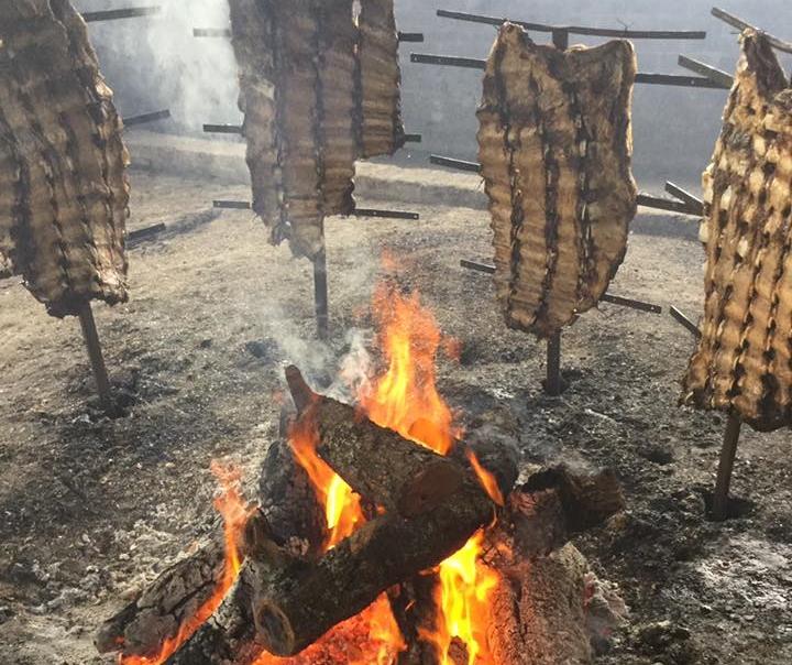 Estancia Los Cerrillos, restaurante de campo