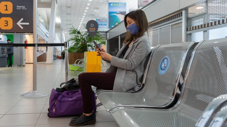 Aeropuerto de Rosario arribos y partidas