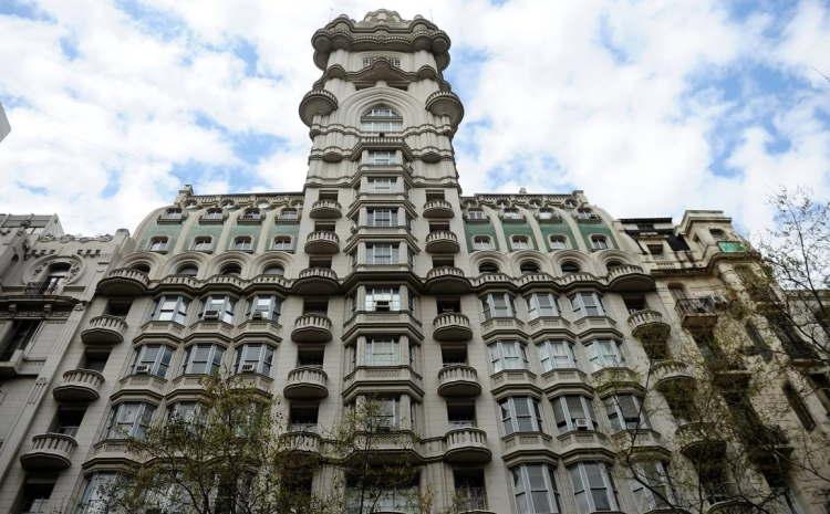 Art nouveau Buenos Aires palacio Barolo