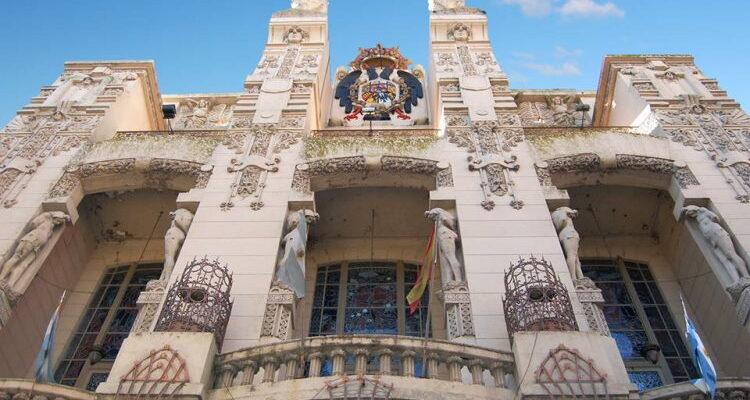 Club Español Rosario fachada