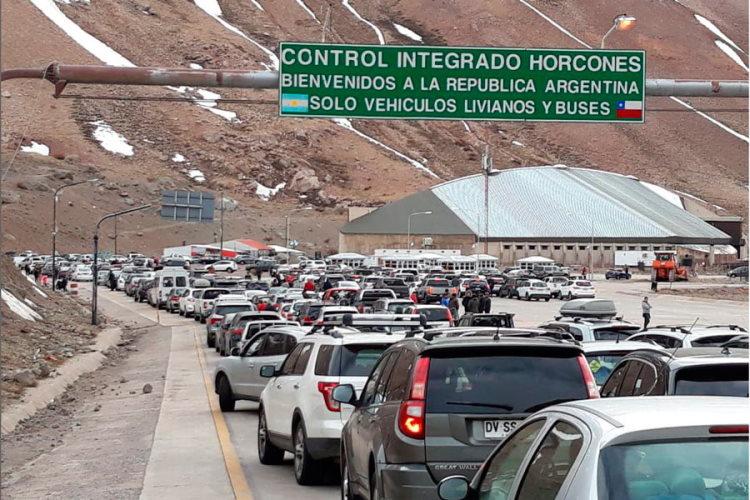 Pasos fronterizos entre Chile y Argentina