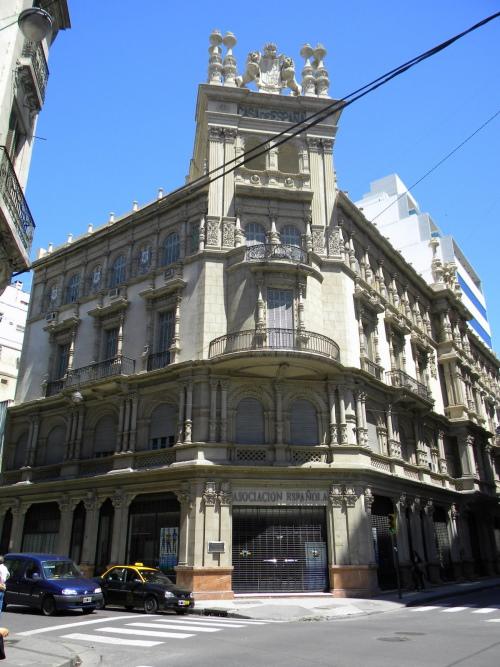 Edificios historicos en Rosario