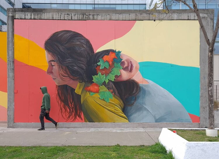 Murales La Empatía Mabel Vicentef