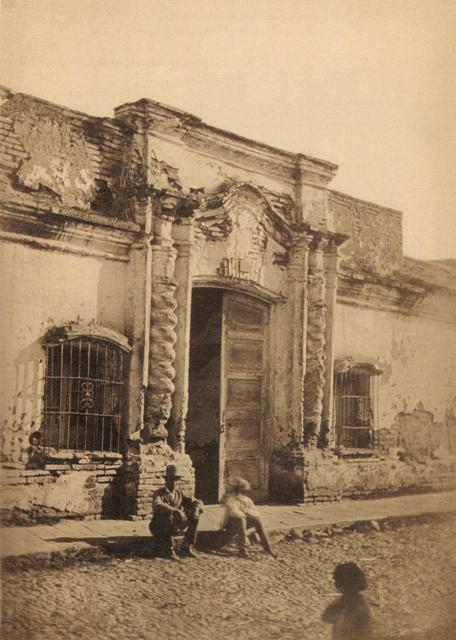 Como era la casa de Tucuman en 1816