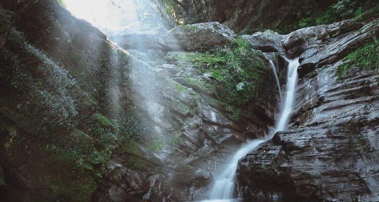 La Cascada De Rio Nouge. Cerro San Javier. tucuman