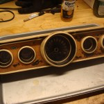 before instrument cluster restoration