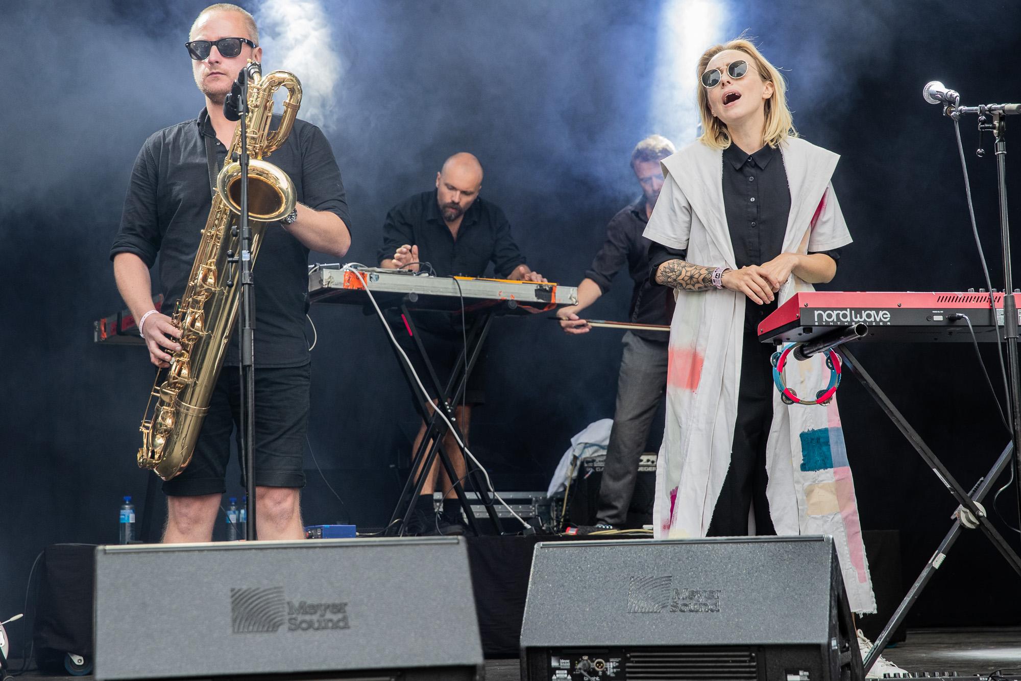 Lucy Swann @ Øyafestivalen 2018