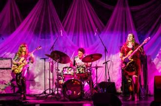 Hedvig Mollestad Trio på Nasjonal jazzscene Victoria - Foto: Johannes Andersen