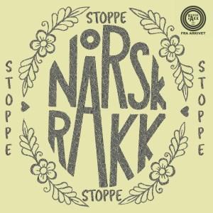 """Coverart av Norsk Råkk sin låt """"Stoppe"""""""
