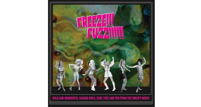 Various Artists-Freeze!!! Fuzz!!!!!! – Garagerock, Surf, Fuzz and Fun from the Sweaty North!