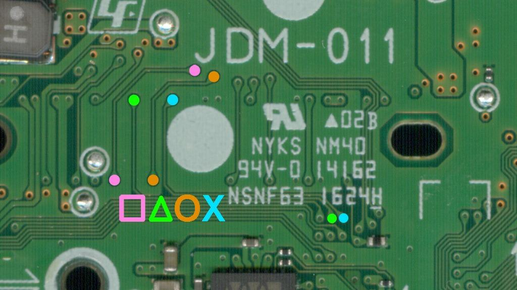 ps4 controller wiring diagram   29 wiring diagram images