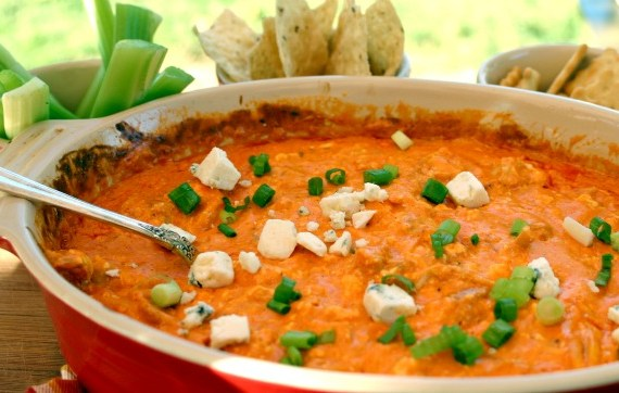 Buffalo Wing Chicken Party Dip