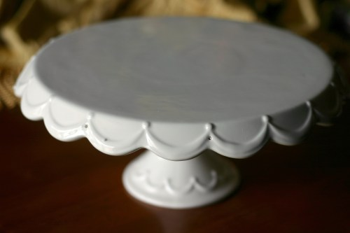 white cake stand dear cake stand i you and nothing bundt cakes 12145