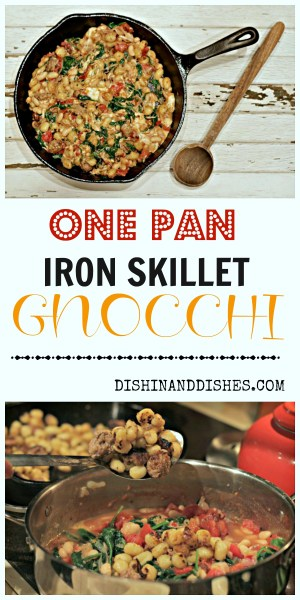 Iron Skillet Gnocchi