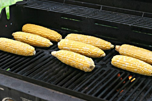 roasted grilled corn
