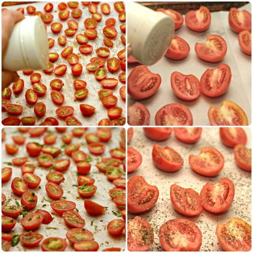 salt tomatoes