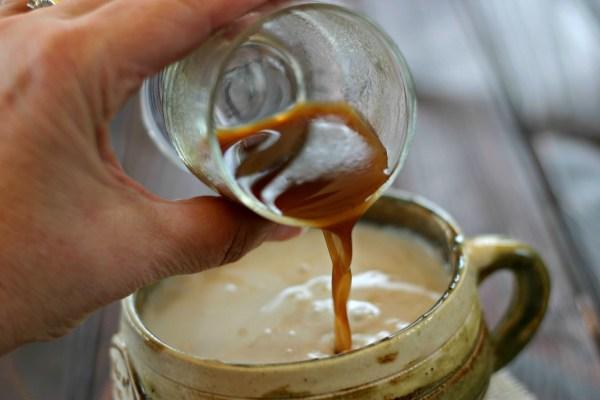 Pumpkin chai latte concentrate