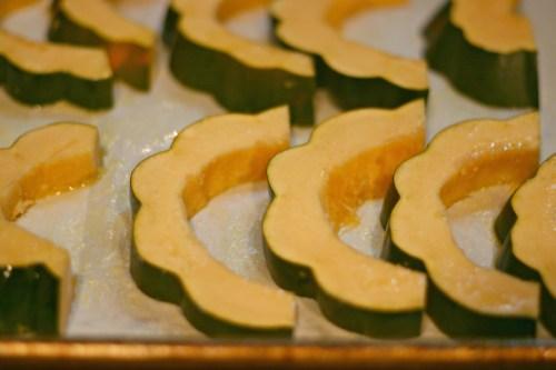 roasting acorn squash