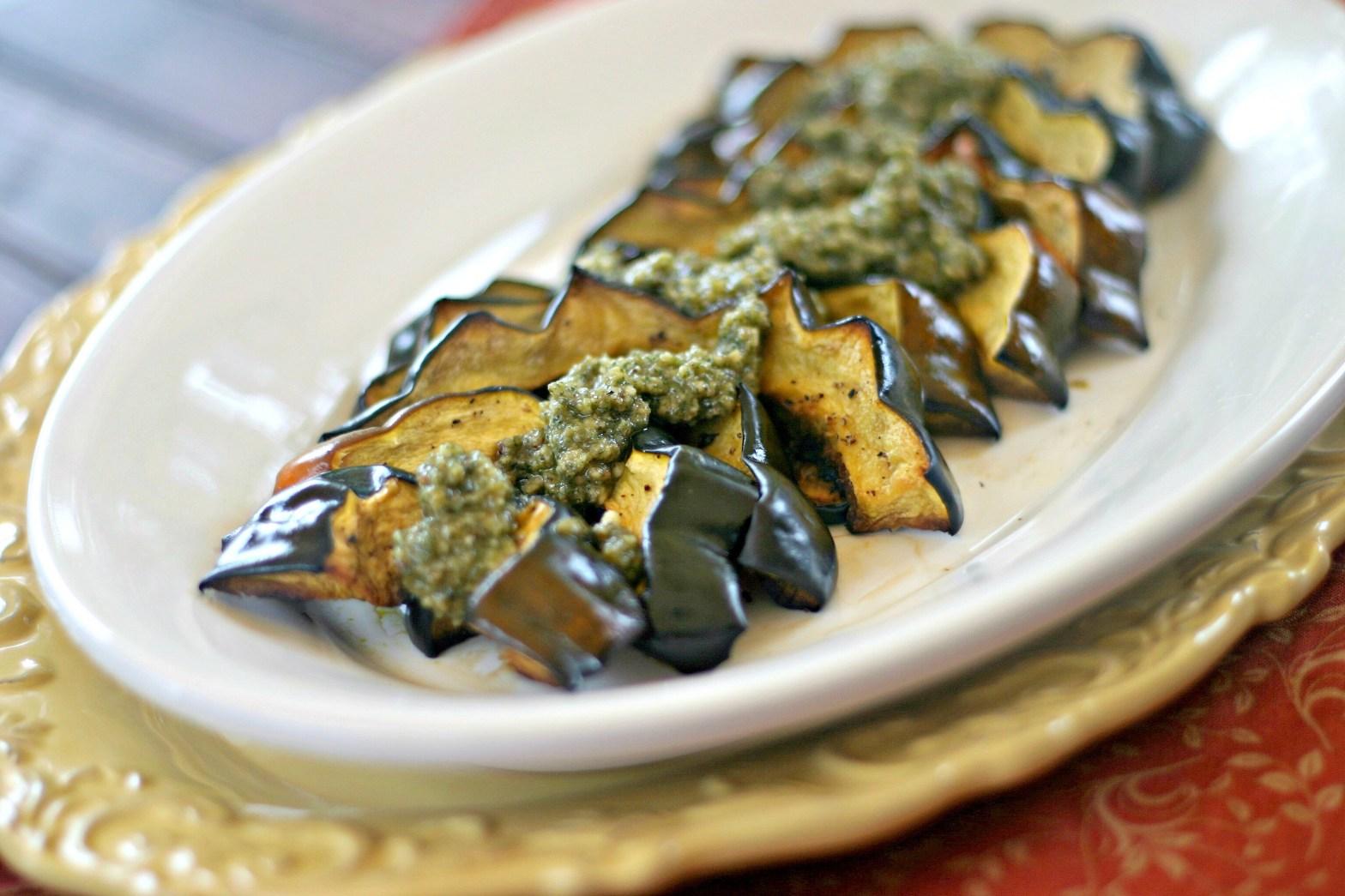 Roasted acorn squash crescent recipe