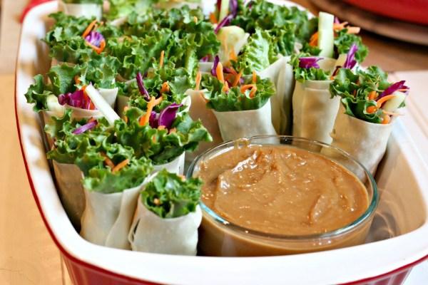 Lettuce wraps roll ups 6